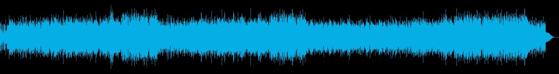 キャッチーな洋楽ポップスの再生済みの波形