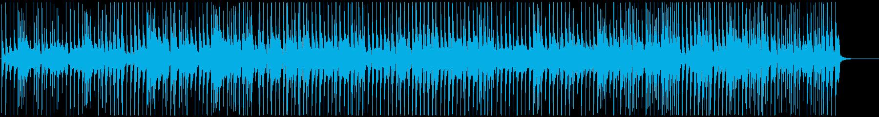 かわいいポップ登場マーチYouTube風の再生済みの波形