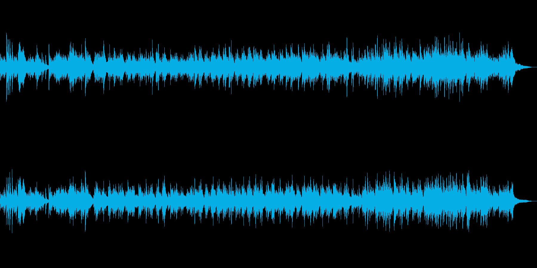 優美な前奏付 華やかで感動的なピアノソロの再生済みの波形