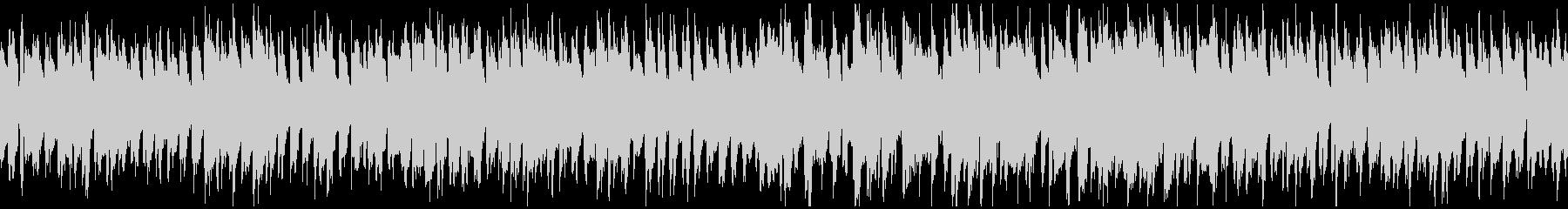 コミカルな行進っぽいリコーダー※ループ版の未再生の波形