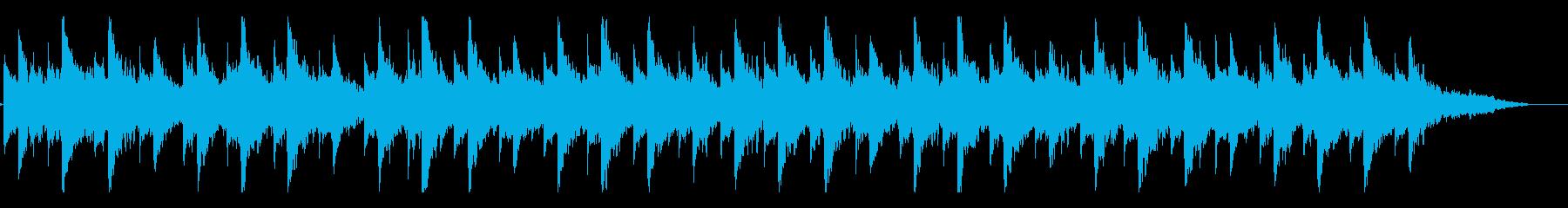 幻想的過ぎる ジムノペディ イントロの再生済みの波形