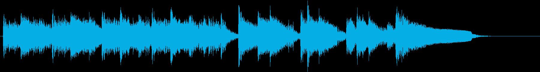 ギターのみの15秒テレビ向けCM曲です。の再生済みの波形