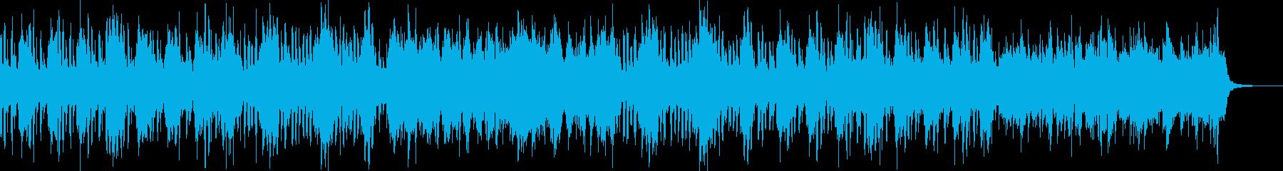 ブラス+オケ和風かっこいい激しい戦闘-2の再生済みの波形