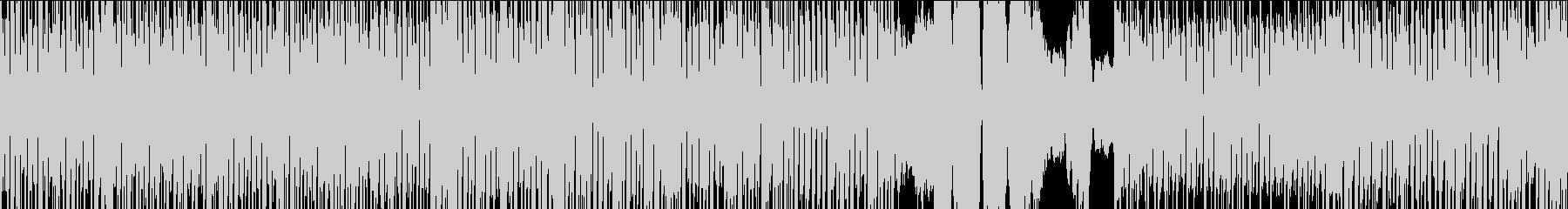 ループ可、淡々としたシンセサウンドの未再生の波形