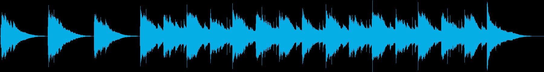 タンクドラムで回想シーンをイメージの再生済みの波形