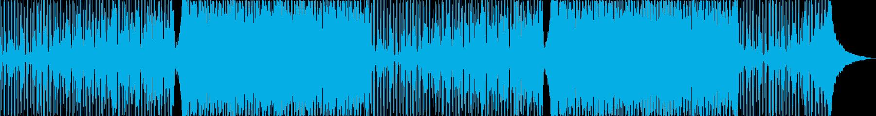 明るく楽しい爽やかなアコギパーティー曲の再生済みの波形