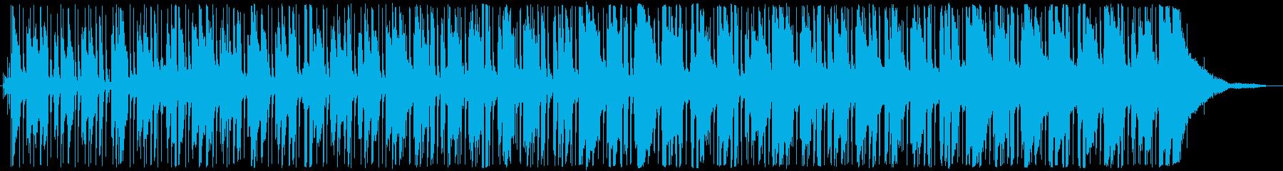 ファンク 緊張感 暗い ホラー ピ...の再生済みの波形