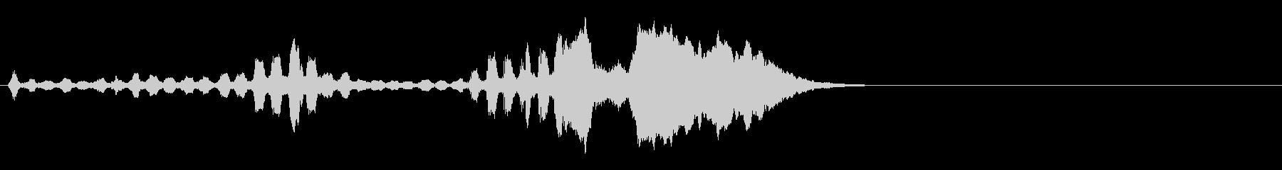音楽ロゴ;ソロミュートトランペット...の未再生の波形