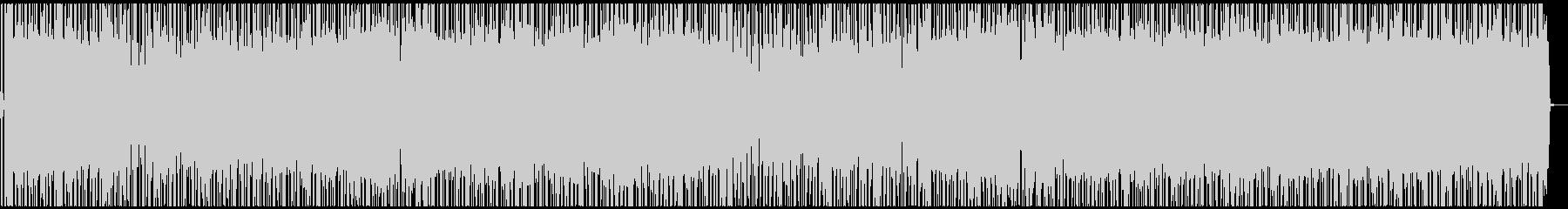 勢いのあるノリノリポップロックの未再生の波形