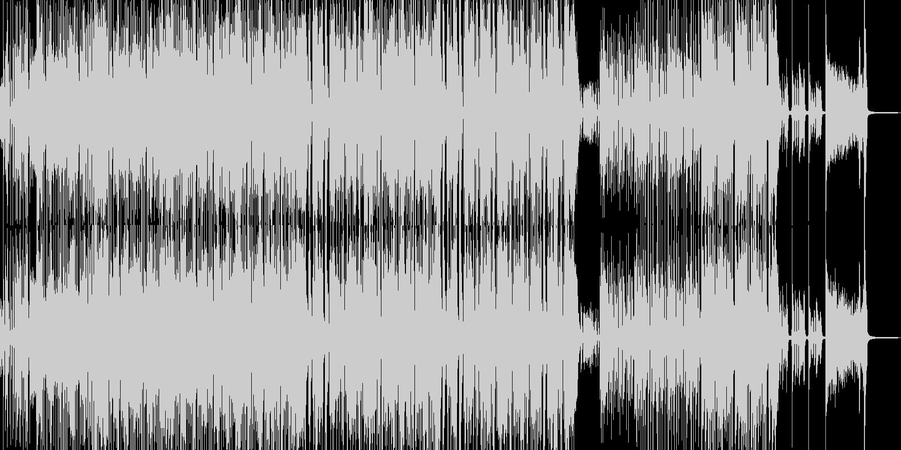 賑やかでハイテンションなスカポップ Cの未再生の波形