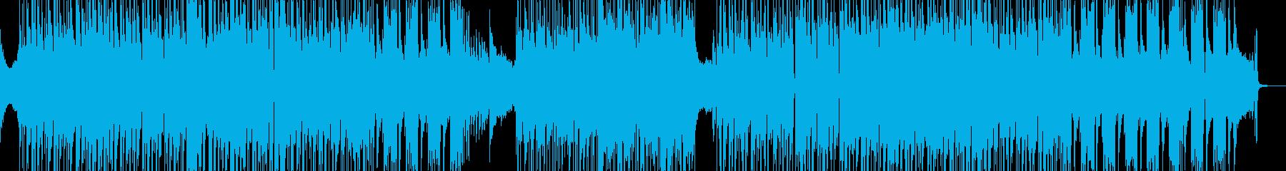 オシャレでシック・疾走するビート 短尺の再生済みの波形