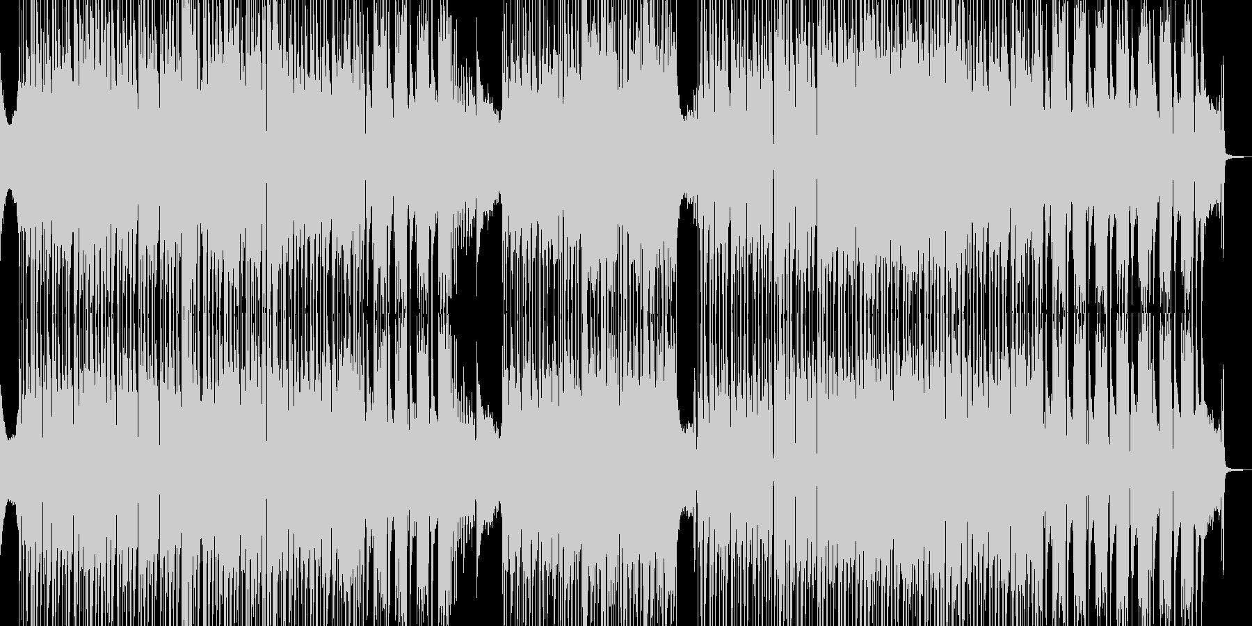 オシャレでシック・疾走するビート 短尺の未再生の波形
