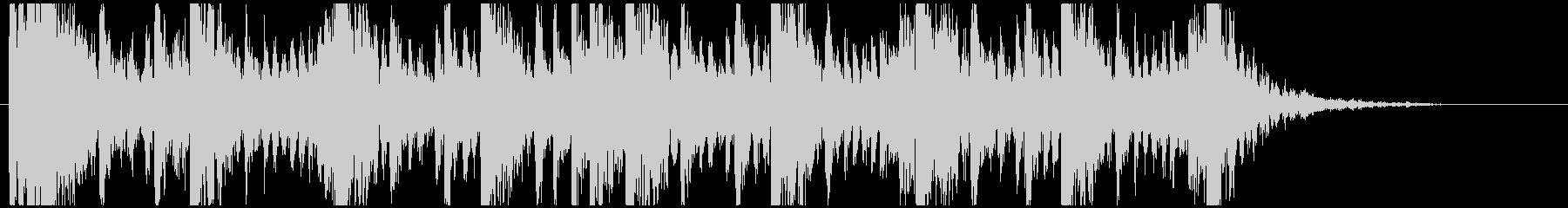 和太鼓のリズム2 残響ありBPM160の未再生の波形
