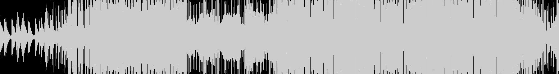 ループ■都会的ローファイヒップホップの未再生の波形