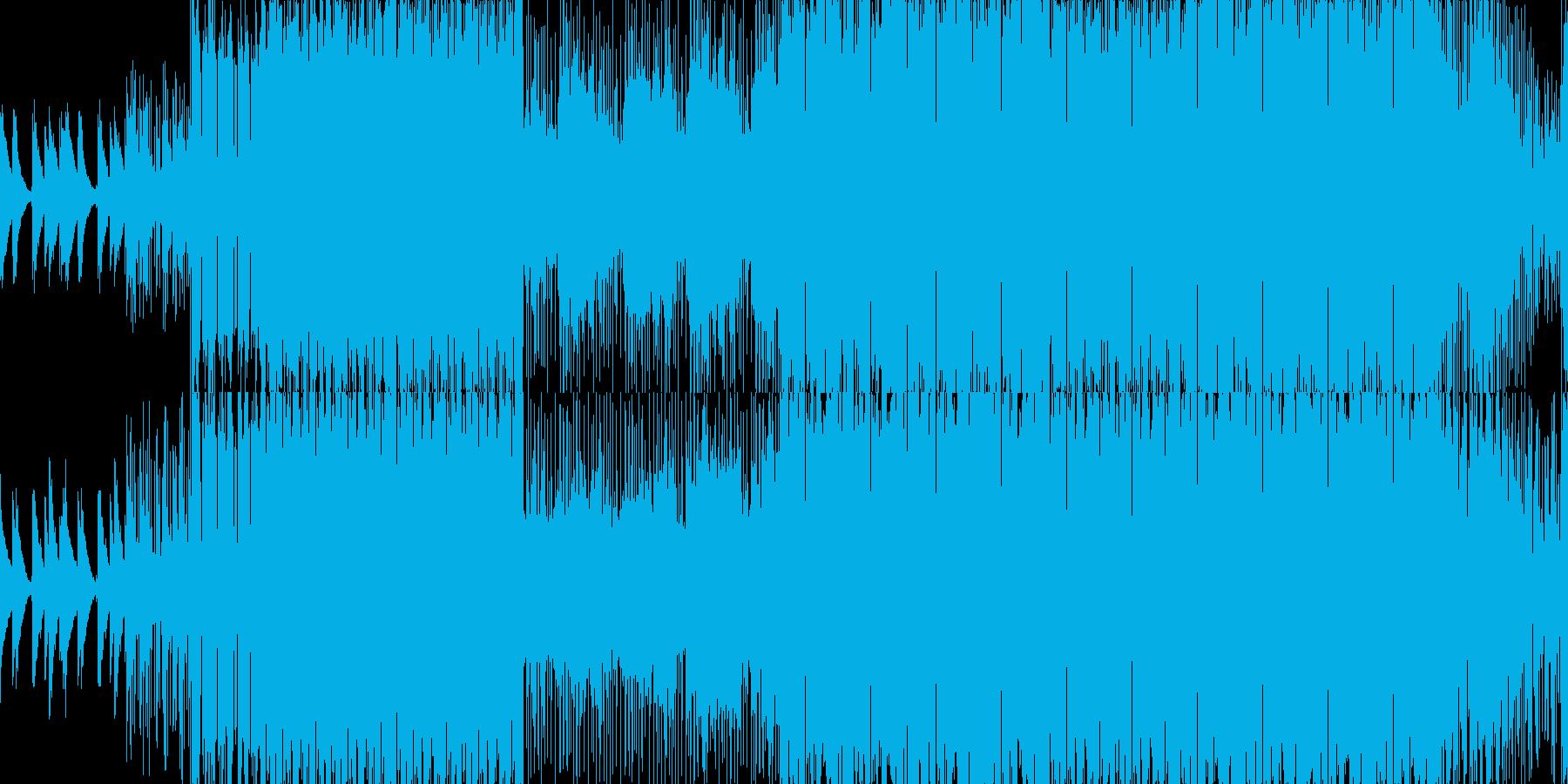 都会的なローファイヒップホップ■ループ可の再生済みの波形