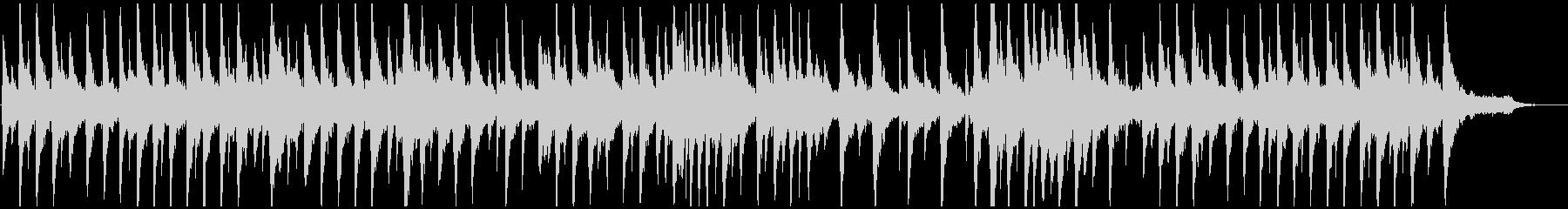 優しく広がりのあるピアノアンビエントの未再生の波形