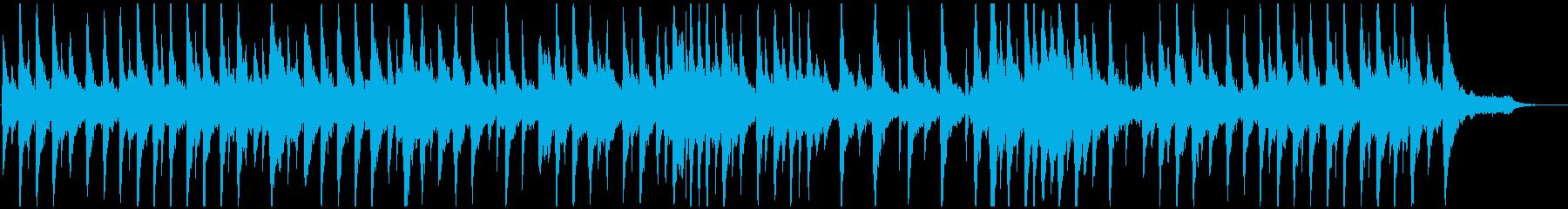 優しく広がりのあるピアノアンビエントの再生済みの波形