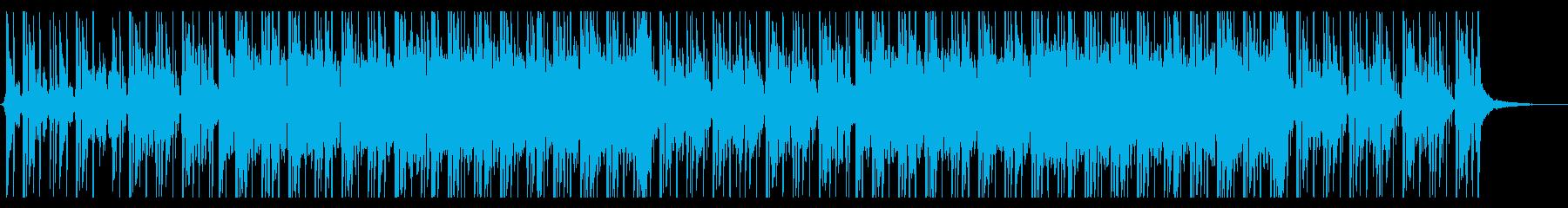 切なさのあるヒップホップなリズムのEDMの再生済みの波形