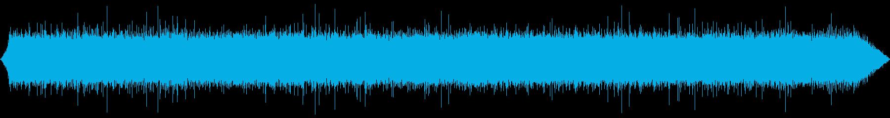 小さな滝滝の再生済みの波形