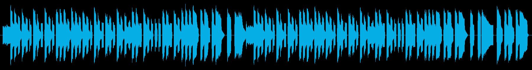 NES 汎用 C01-1(タイトル) の再生済みの波形