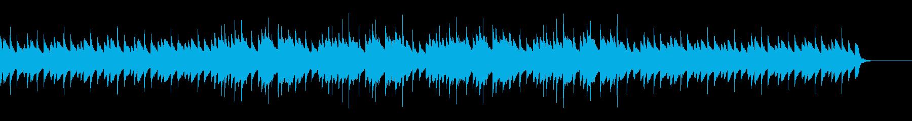 プロローグ、あたたかい想い出の回想シーンの再生済みの波形