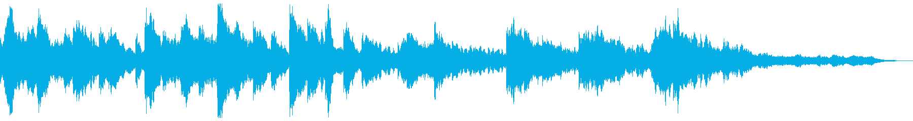 ハープの癒し リラクゼーションの再生済みの波形