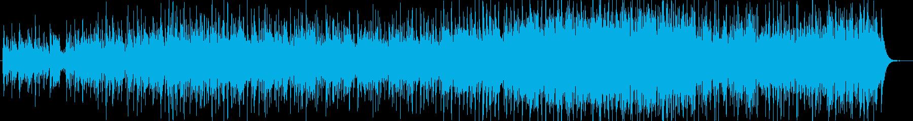 中世ファンタジー・リュートの再生済みの波形