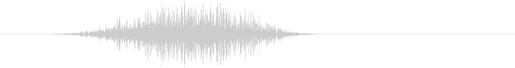 トランジション ヒューシュ23の未再生の波形