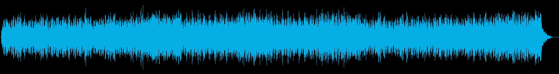 荘厳な雰囲気のあるシンセポップスの再生済みの波形