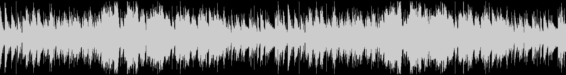 生演奏フルートの可憐なボサノバ:ループの未再生の波形