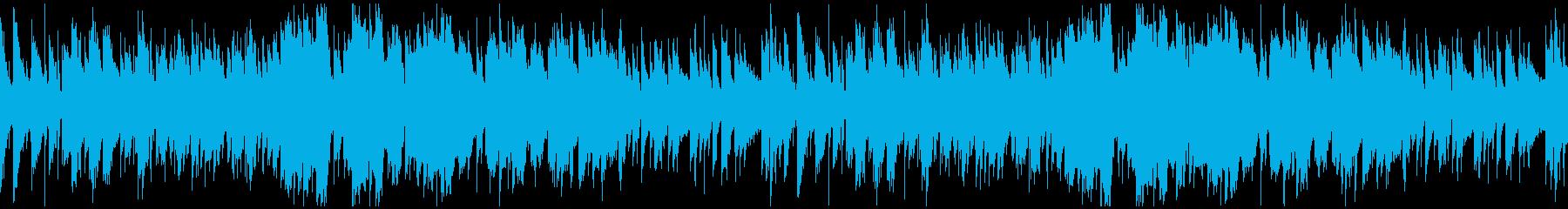 生演奏フルートの可憐なボサノバ:ループの再生済みの波形