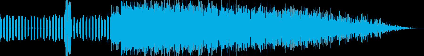 ピピ!バシューン!(ビームの発射)の再生済みの波形