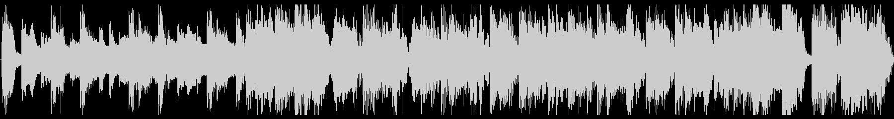 出囃子ロックCM用横ノリオープニングの未再生の波形
