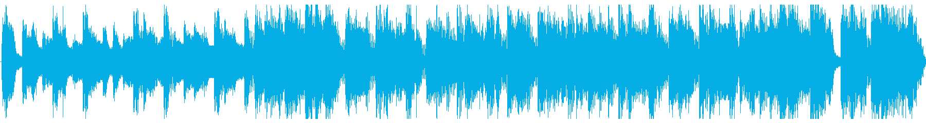 出囃子ロックCM用横ノリオープニングの再生済みの波形