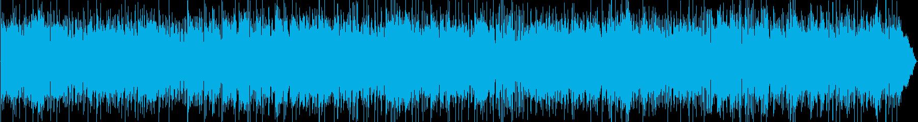 スムースジャズ、かっこいいエレピとギターの再生済みの波形