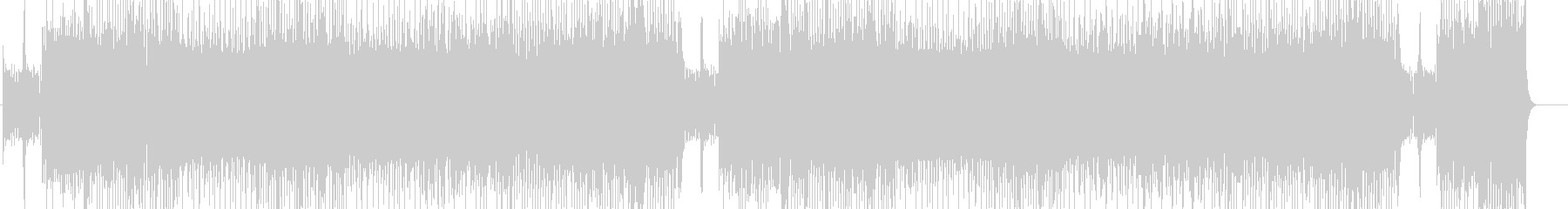 「HR/HM」「DARK」BGM156の未再生の波形