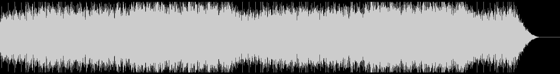 ハープとピアノの幻想的なBGM 水音ありの未再生の波形