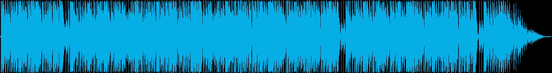 神秘的なファンク。待っていますの再生済みの波形