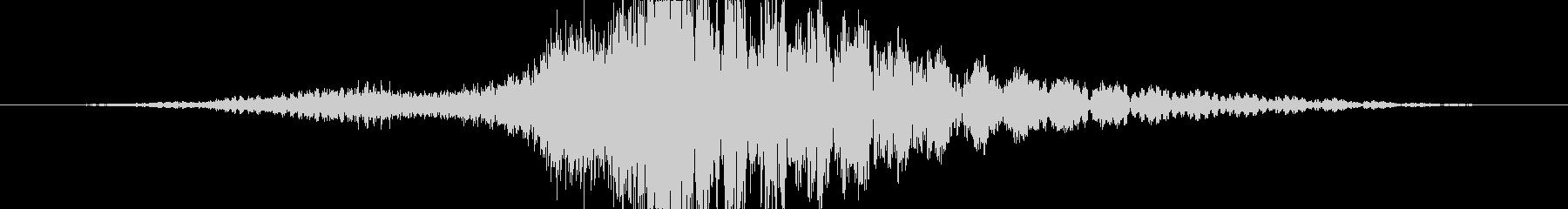 トランジション プロモーションパッド40の未再生の波形