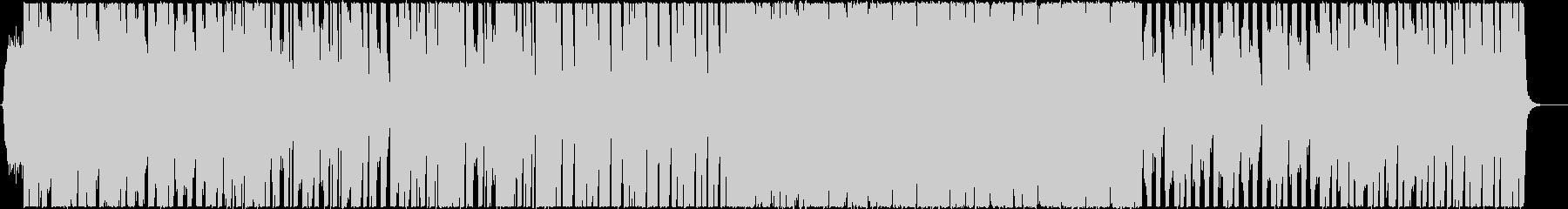 和風な三味線のかっこいいBGMの未再生の波形