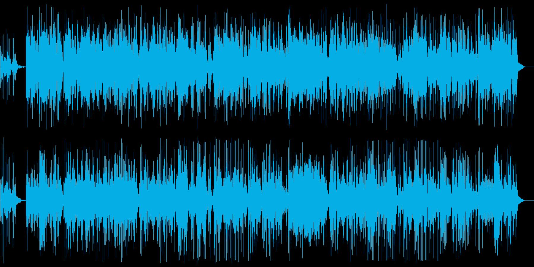 美しいピアノの旋律がドラマチックな楽曲の再生済みの波形