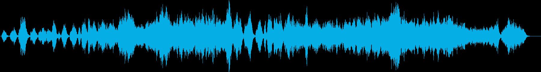 荘厳な雰囲気のクラシック風弦楽合奏の再生済みの波形