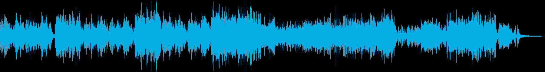 姫チックなワルツ・華やかな連弾ピアノの再生済みの波形