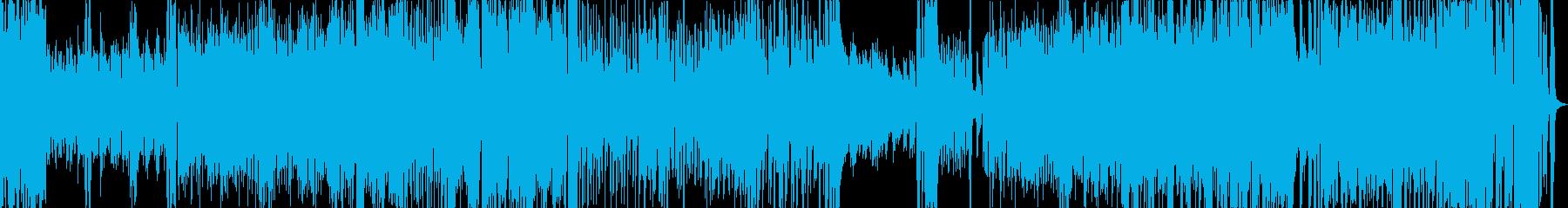 キャバレー風の小編成ビッグバンドジャズの再生済みの波形
