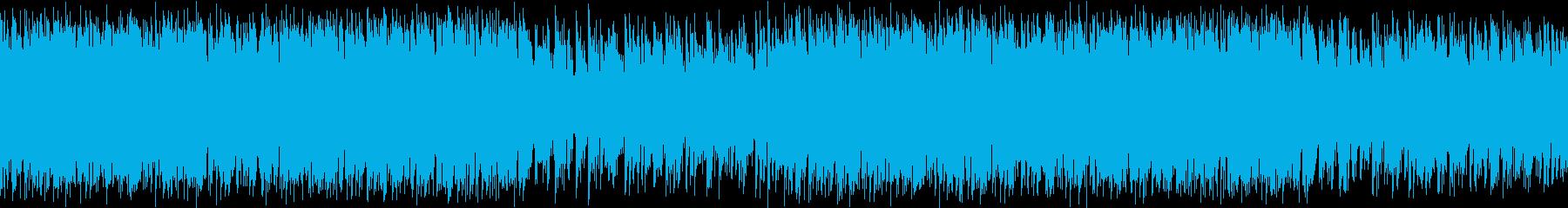 ロックオルガンが印象的なガレージロックの再生済みの波形