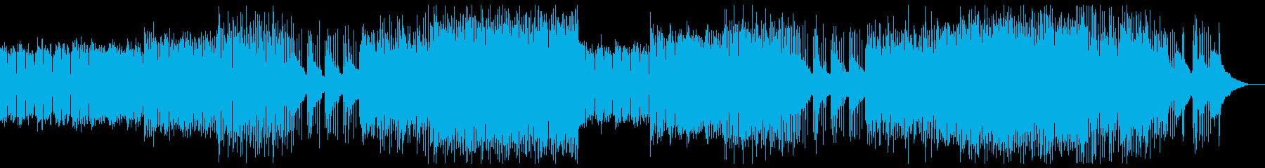 ダークシンセウェーブ レトロの再生済みの波形