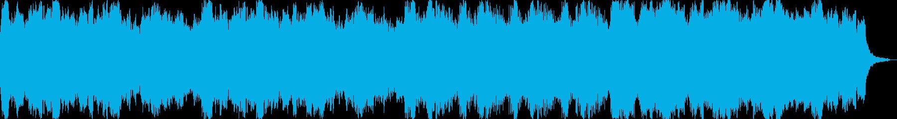 謎が深まる楽曲の再生済みの波形