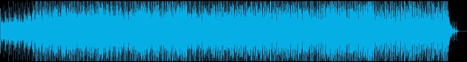 ウクレレポップロック 楽しく明るい企業系の再生済みの波形