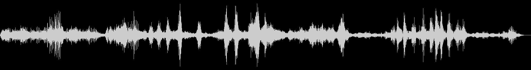 ハミングバードフライング、非常に高...の未再生の波形