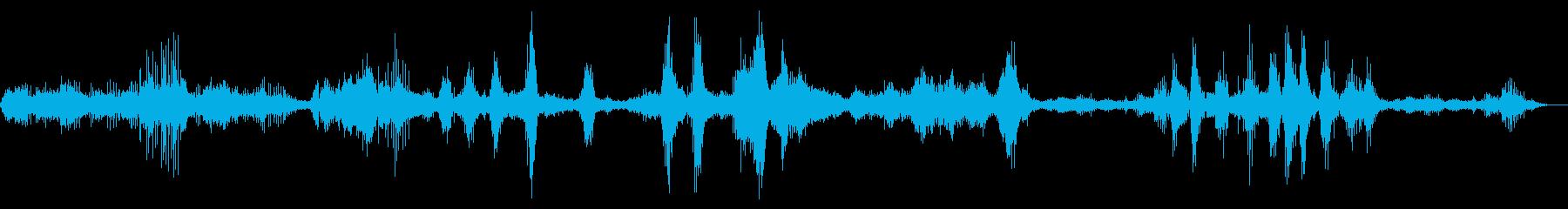 ハミングバードフライング、非常に高...の再生済みの波形
